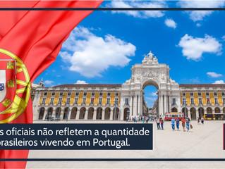 Brasileiros vivendo em Portugal podem ser até o dobro dos números oficiais