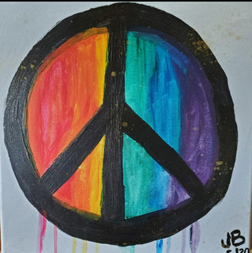 Golden Rainbow Peace