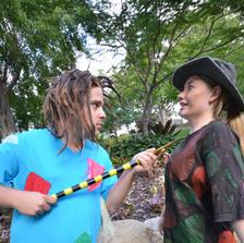 The Magic Garden - Costume design
