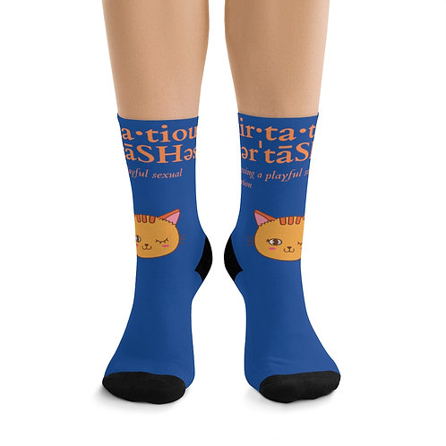 Flirtatious Women's DTG Socks