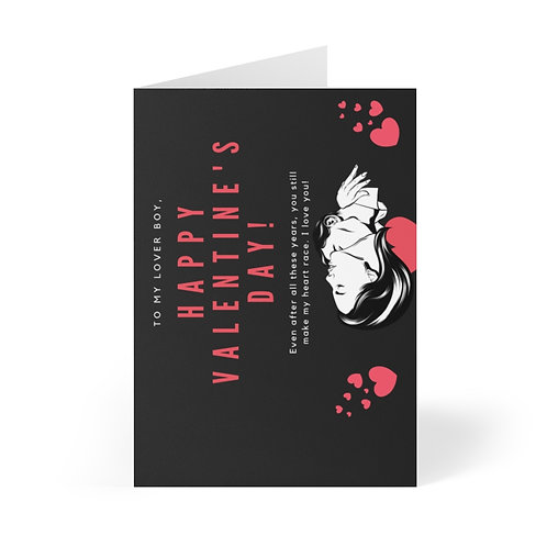 Loverboy Valentine Greeting Cards (8 pcs)