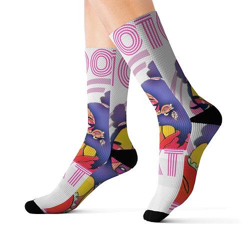 Extra 100 Sublimation Socks