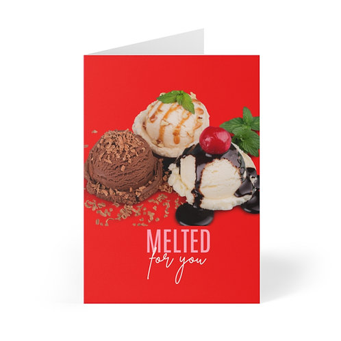 Melted Greeting Cards (8 pcs)