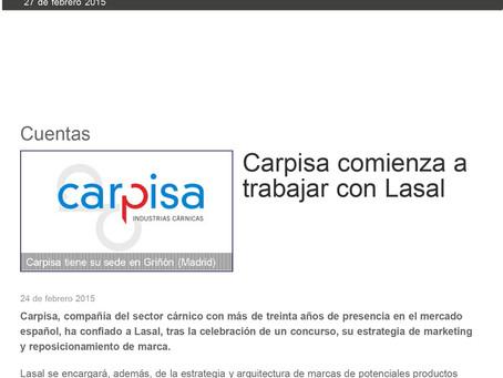 Carpisa comienza a trabajar con LaSal