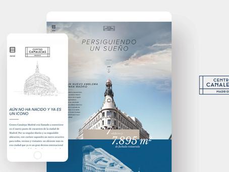 Nueva web de Centro Canalejas Madrid