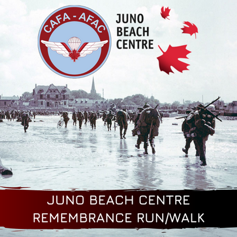 Juno Beach Centre Remembrance Run/Walk