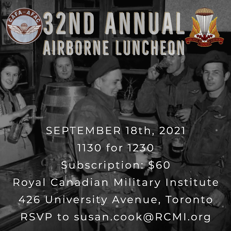 32nd Annual Airborne Luncheon