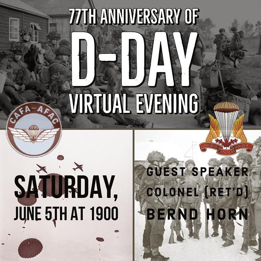 D-DAY Virtual Evening