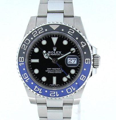 Gents Rolex GMT Master II 16710BLNR -£POA