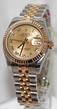 Ladies Rolex Datejust 179173 - £4950