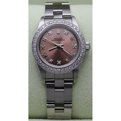 Ladies Rolex Oyster Perpetual 76080 - £3495