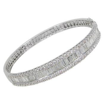 Diamond Bangle 3.55ct - £6495