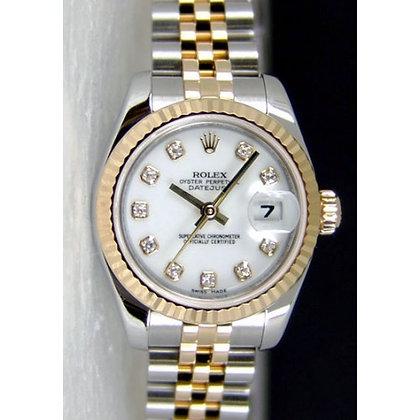 Ladies Rolex Datejust 179173 - £6250