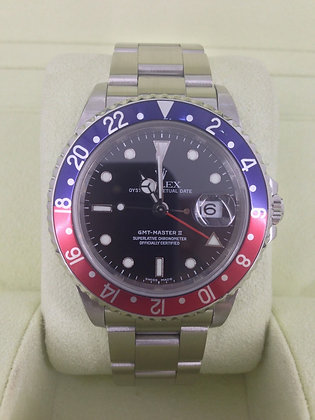 Gents Rolex GMT Master II 16710 - SOLD