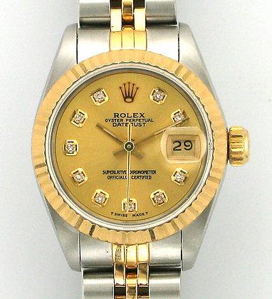 Ladies Rolex Datejust 69173 - £3195
