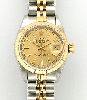 Ladies Rolex Datejust 69173 - £2795