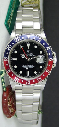 Gents Rolex GMT Master II 16710 - £4390