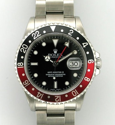 Gents Rolex GMT Master II 16710