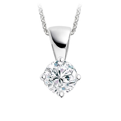 Diamond Pendant 0.36ct - £745