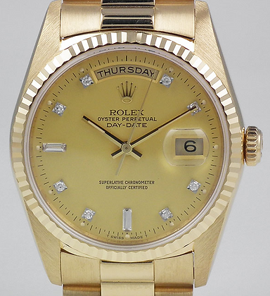 Gents Rolex President Day Date 18038 - £10495