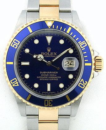 Gents Rolex Submariner 16613