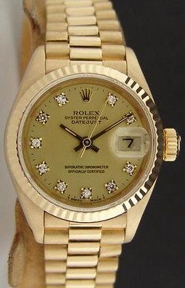 Ladies Rolex Datejust 69178 - £6490