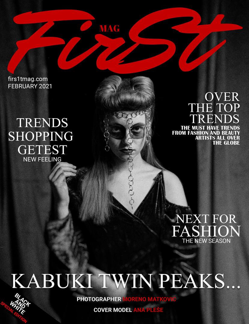 Editorial @first.magazine Model @ana_plese_ Agency @nmodelcroatia MUA @Nina Hairstyle @kejt_w_hair