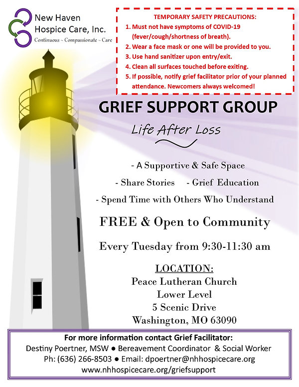 revised grief support group flyer-groups