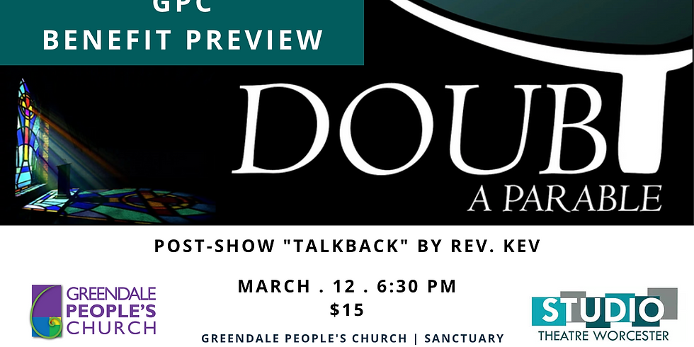 """Benefit Performance of """"Doubt: A Parable"""" (GPC Preview ) (1)"""
