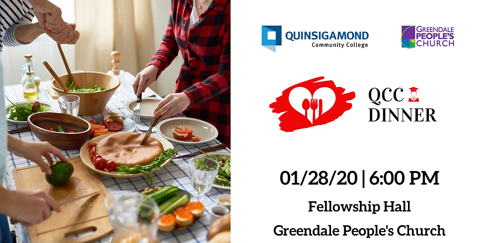 QCC Dinner January 2020 Volunteer Signup