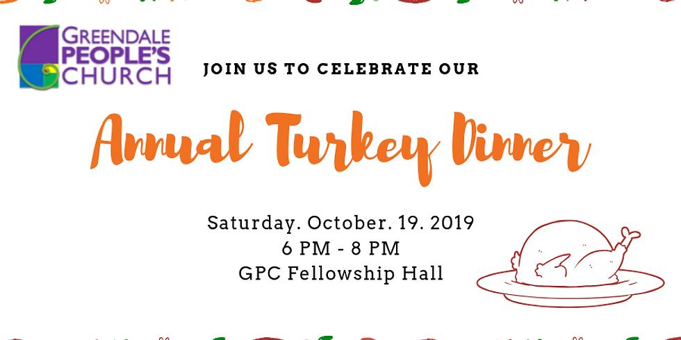 Annual Turkey Dinner