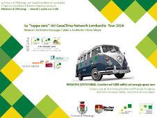 """""""tappa zero"""" del Tour CasaClima Lombardia 2016"""