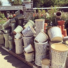 New #terracotta #pots in stock #meadowfa