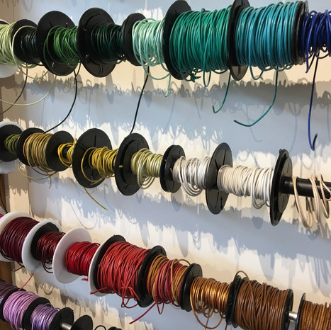 Leather Cording by the Yard or Spool
