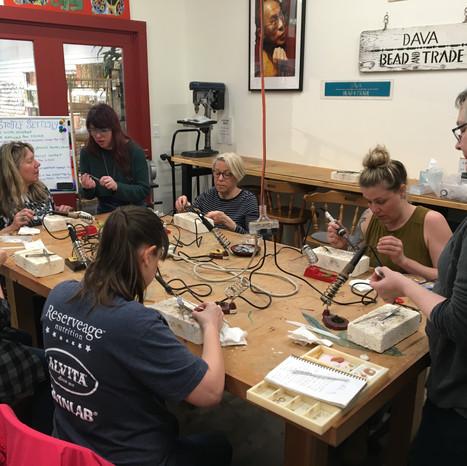 Workshops and Open Studio