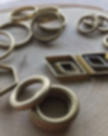 brass, african brass, components, hoops, metal rings, metal shapes, metal component