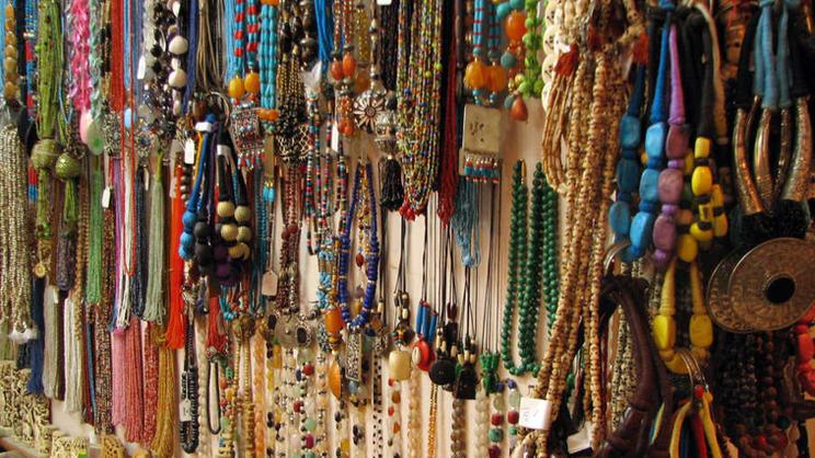 Trinkets at the Flea Market