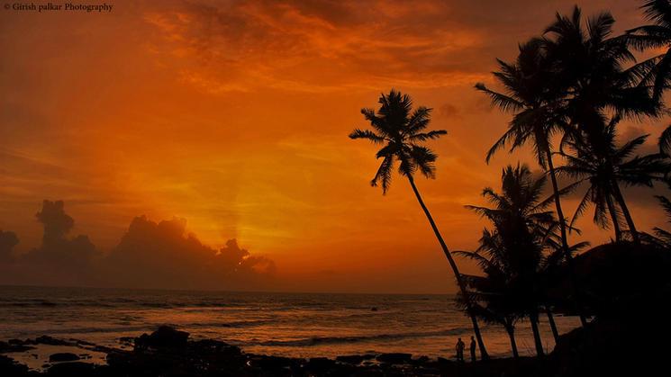 Sunsets at Anjuna