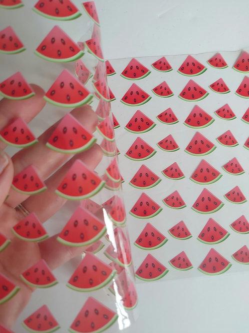 Watermelon 🍉 transparent jelly
