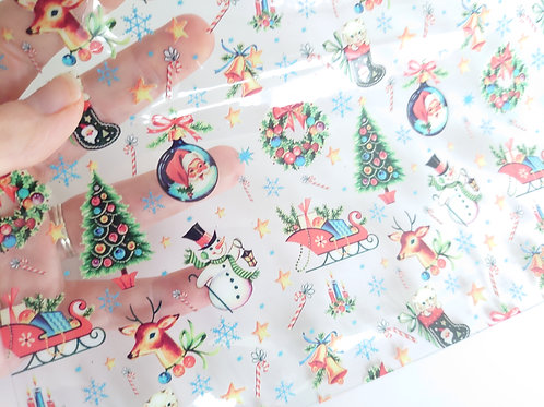 Christmas Transparent Sheets