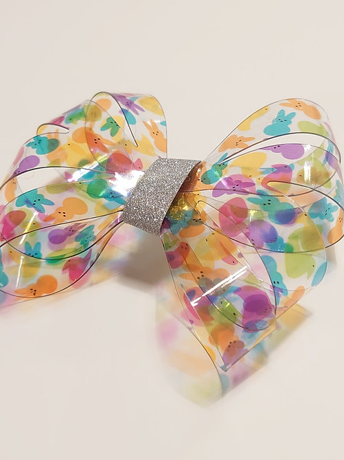 Easter transparent pvc jelly sheets