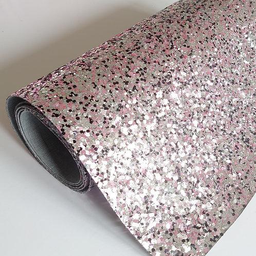 Pink/black glitter sheets