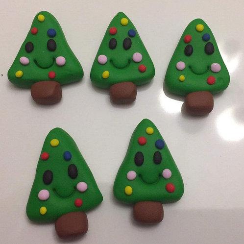 Smiley Christmas tree charms