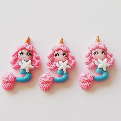 Hot pink Mermaid star