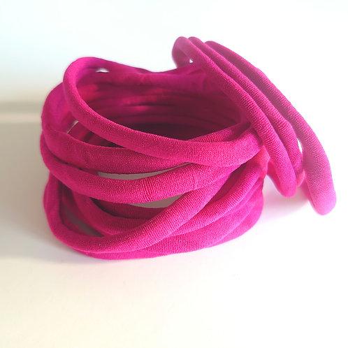 Fuchsia pink  craftyduck headbands