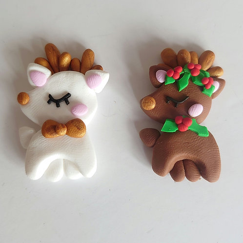 Reindeer clay