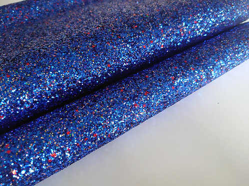 Blue chunky canvas sheet