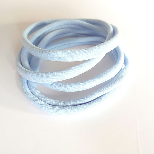 Baby blue craftyduck headbands