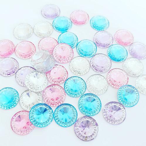 Round crystals