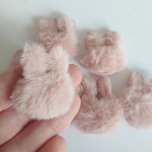 Fluffy padded bunny
